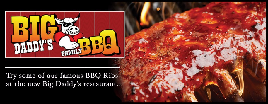 Big Daddy's Family Dining Ribs Banner